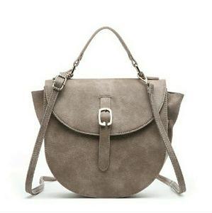 Pink Haley Gray Keilani Saddle Bag